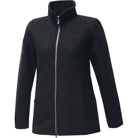 Ivanhoe of Sweden Brodal Long Wool Jacket Women black